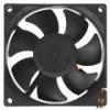 Вентилятор системного блока 80x80х25 широкий разъем 4 pin (8025K) Gembird