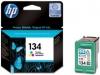 Картридж №134 (HP DJ5743/6543/6623/6843/9803/6213/7313/PSС1613/2353) (450стр) цвет, (о) C9363HE