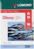 Бумага для стр. принтеров (200г/м2, 25л, А4 глянц,1-ст) 0102046 Lomond