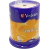 Диск Verbatim DVD-R  4.7 Gb  16x,  Cake Box, 100шт., (43549)