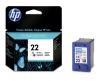 Картридж №22 (HP DJ3920/3940/D1360/2360/PSC1410) (137стр) цвет, (о) C9352AE
