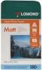 Бумага для стр. принтеров (180г/м2, 50л, А6 матовая, 1-ст) 0102063 Lomond