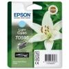 Картридж T059540 (Epson Stylus Color R2400) светло-син, (о) C13T059540