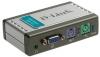 Переключатель сист. блоков D-Link KVM-121 на 2 компьютера (кабели в комплекте)