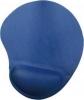 Коврик Buro гелевый (230х205x25) синий  (вал под запяст) BU-Gel/blue