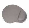 Коврик Buro гелевый (230х205x25) серый  (вал под запяст) BU-Gel/grey