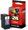 Картридж №24 18C1524E (Lexmark X3530/3550) цвет, (о)