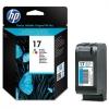 Картридж №17 (HP DJ 840C/825/845/847C) (550стр) цвет, (о) C6625AE