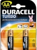 Батарейка AA DURACELL TURBO MX1500 (LR6) (2 шт. в уп-ке)