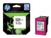 Картридж №121 XL (HP D2563/F4283/F4200) (440стр) цвет, (о) CC644HE
