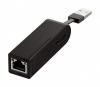 Сетевая карта USB D-Link DUB-E100  Адаптер USB 2.0/1.0 10/100Мб - RJ-45 (Внешняя)