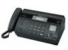 Факс Panasonic KX-FT982RUB (черный) {термобумага, АОН, память 100номеров}