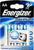 Батарейка AA Energizer Maximum (4шт. в уп-ке)