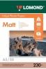 Бумага для стр. принтеров (230г/м2, 50л, А5 матовая, 1-ст) 0102069 Lomond