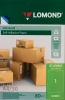 Бумага Lomond самоклеящаяся  зелен. универс (80г/м2, 50 л,) А-4  2120005