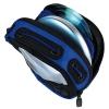 Сумка для CD-плеера и 4 CD нейлон черно-синяя. H-33689