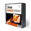 Диск Mirex DVD+R 4.7 Gb 16х, Slim Case, 5шт., (UL130013A1F)