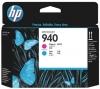 Печатающая головка C4901A (HP Officejet Pro 8000) красная и голубая, (о) №940