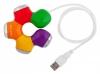Разветвитель USB PC Pet 4-port USB2.0 (Flower)