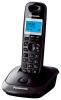 Радиотелефон Panasonic KX-TG2511RUT{АОН, 10 полиф. мелодий, тел.книга 50 номеров} темно-серый