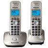 Радиотелефон Panasonic KX-TG2512RUN {АОН, 10 полиф. мелодий, тел.книга 50 номеров} доп.трубка в комп