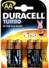 Батарейка AA DURACELL TURBO MX1500 (LR6) (4 шт. в уп-ке)