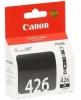 Картридж CLI-426BK (Canon Pixma iP4840/5140/5240/6140/8140) (9 мл) черн, (о) 4556B001
