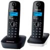 Радиотелефон Panasonic KX-TG1612RU1 {АОН, Caller ID, 12 мелодий, тел.книга 50 номеров} доп. трубка