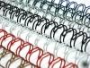 """Пружины для переплёта металические  А4, (7,9мм(5/16""""),3:1,1/100) белые QP ( 60 л)"""