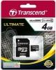 Карта памяти Micro Secure Digital 4Gb Transcend Class 10 (TS4GUSDHC10)