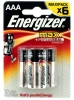 Батарейка AAA Energizer Base (Plus/MAX, LR03 E92) (4шт. в уп-ке)