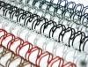 """Пружины для переплёта металические  А4, (9,5 мм(3/8""""),3:1,1/100) белые QP ( 75 л)"""