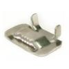 Бугель (замок-фиксатор) для ленты монтажной (с зуб) нерж. (HC-20T)