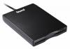 """Дисковод 3.5"""" BURO BUM-USB (Black) внешний"""