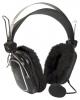 Наушники с микрофоном A4Tech HS-60 [Накладные, закрытые, микрофон, рег.громкости, 20-22000Гц]