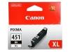 Картридж CLI-451BK XL (Canon Pixma IP7240/Pixma MG6340/MG5440) чер, (о)  6472B001