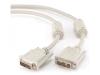 Кабель DVI-DVI 1,8м single link, 19M/19M, экран, феррит.кольца, пакет  Cablexpert [CC-DVI-6/6C]