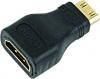 Переходник HDMI-miniHDMI 19F/19M, золотые разъемы, Gembird [A-HDMI-FC]