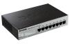 "Коммутатор  8 port D-Link DES-1210-08P {8-port UTP PoE 10/100 WEB Smart III Switch, 7.5"")"