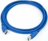 Удлинитель кабеля USB 3.0 [Аm - Аf] 3,0м [Gembird] (CCP-USB3-AMAF-10) позол. контакты