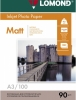 Бумага для стр. принтеров ( 90г/м2,100л, А3 матовая 1-ст) 0102011 Lomond