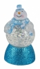 "Сувенир ""Снеговичек-Толстячок"" синий шарф, подсветка ORIENT NY6010 USB"