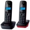 Радиотелефон Panasonic KX-TG1612RU3 {АОН, Caller ID, 12 мелодий, тел.книга 50 номеров} доп. трубка