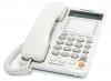 Телефон Panasonic KX-TS2368RUW (2 линии, спикерфон, память 30 номеров, ЖКД)