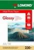 Бумага для стр. принтеров (230г/м2, 50л, А4 глянцевая,1-ст) 0102022 Lomond