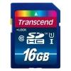 Карта памяти Secure Digital 16Gb Transcend Class 10 (TS16GSDU1)