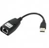 Удлинитель кабеля USB 2.0 [USB-AMAF/RJ45] до 45м. VCOM CU824 ,по витой паре