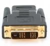 Переходник HDMI -> DVI 19F/25M (мама-папа), золотые разъемы [A-HDMI-DVI-2]