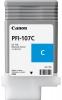 Картридж Canon PFI-107C (Canon iPF680/685/780/785) (130 мл)   Cyan 6706B001