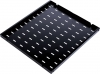 Полка перфорированная, глубина 1000 мм, цвет черный (СВ-100-9005) ЦМО